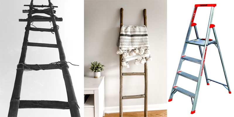 Who invented the ladder?