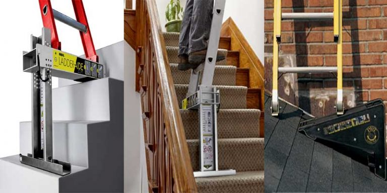 How to Use a Ladder on Stairs?