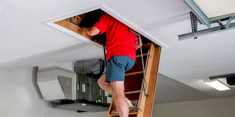 How to Insulate Attic Stairs?