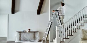 Adjustable Ladder For Stairs