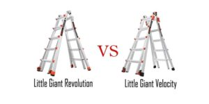 Little Giant Velocity vs Revolution